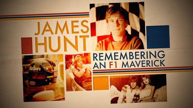 BBC Sport - James Hunt: Remembering F1's 'swashbuckling playboy'