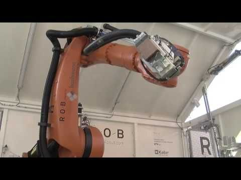 Robotic Arm Builds Great Wall in Chinatown - Knauss