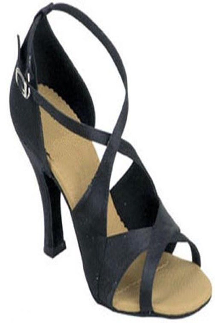 Fashion Women Suede Sole Latin Salsa Ballroom Tango Dance Shoes Sandals ALL SIZE