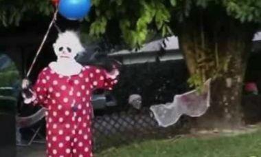 Scariest clown sightings caught on camera