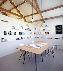 Postcard shelves