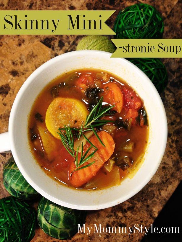 skinny mini-stronie soup