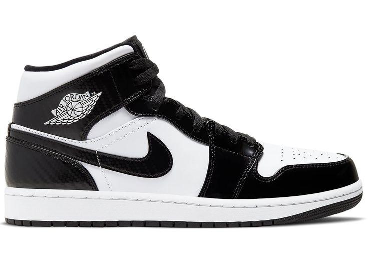 Jordan 1 Mid Carbon Fiber All-Star (2021) in 2021 | Sneakers, All ...