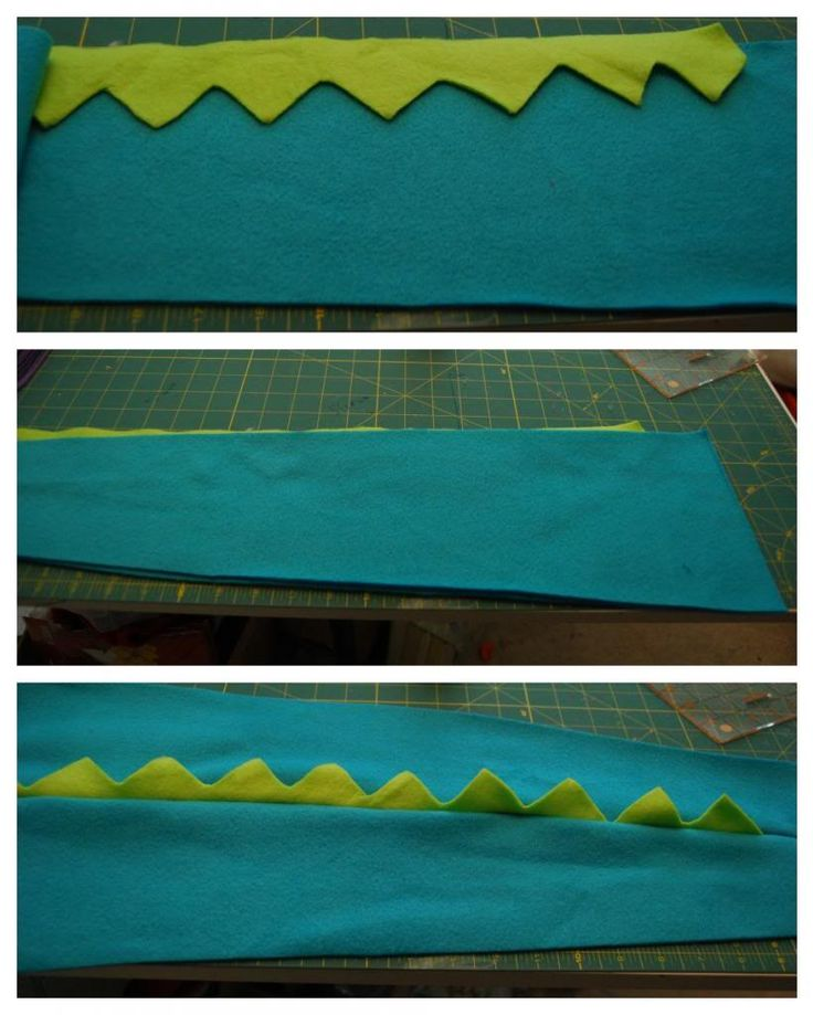 Dinosaur Tail Tutorial | The TipToe Fairy