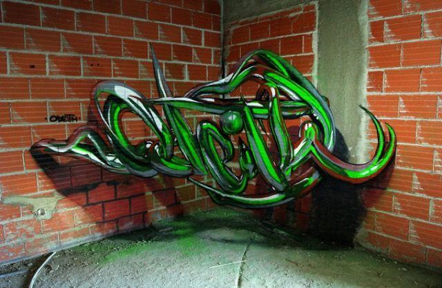 Anamorphic Graffiti Illusions by Odeith _12