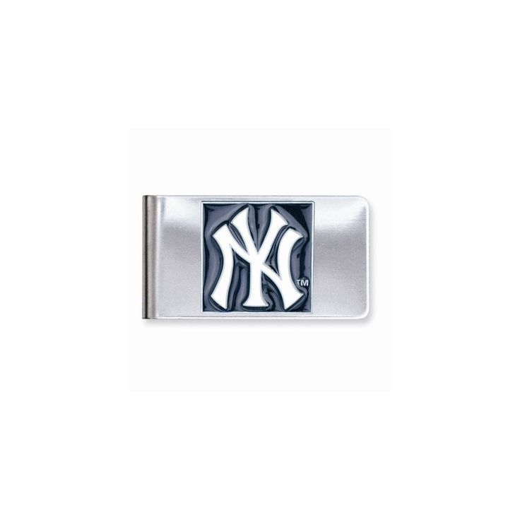 MLB Yankees Money Clip - Engravable Personalized Gift Item