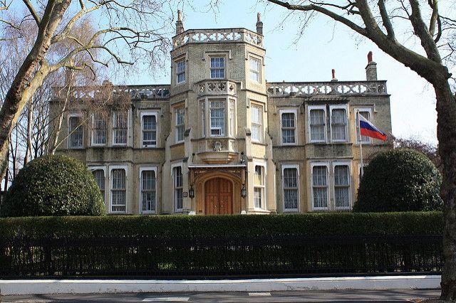 Londres: L'ambassade Russe attaquée