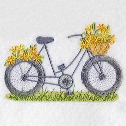 bicicleta bordada