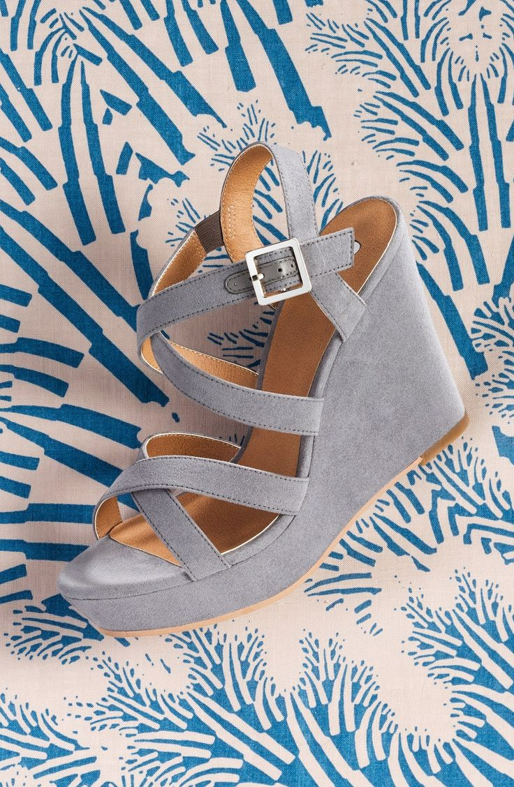 The classic silhouette and pitch-perfect wedge of this sandal will go with almost anything. @nordstrom #nordstrom