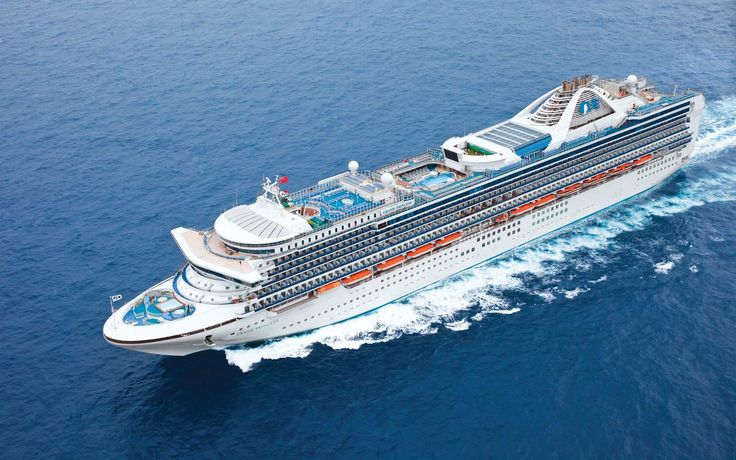 3. Princess Cruises | For some, bigger is definitely better: here, the top cruise lines with the largest ships at sea.