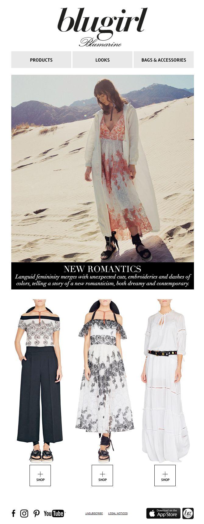 New Romantics • Blugirl Spring Summer 2017 Collection