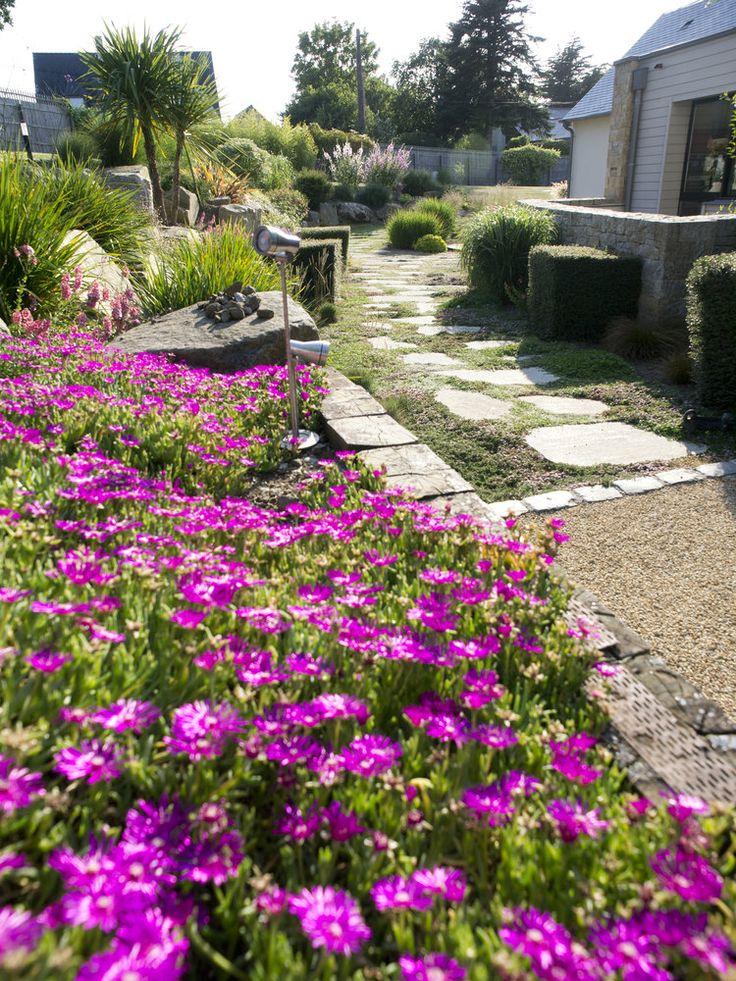The 33 best jardin bord de mer images on Pinterest | Rock shower ...