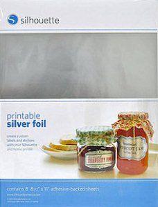 Printable : Silver Foil - Printable