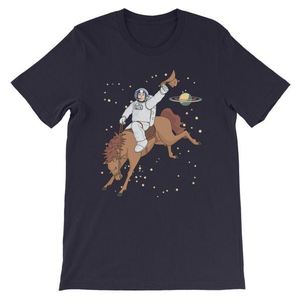 Space Cowboy T-Shirt - https://cracksmokingshirts.com/product/space-cowboy-t-shirt/ #funny #humor