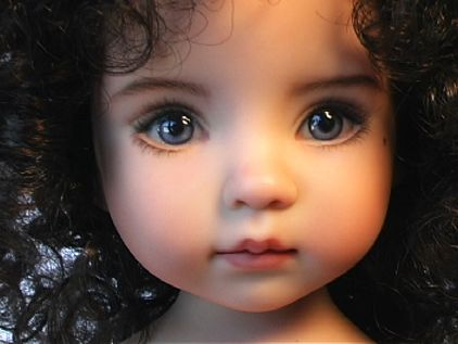 I don't normally like dolls but this is AMAZING!!! Course, Cai and Jim say it looks like an evil doll but what do they know???