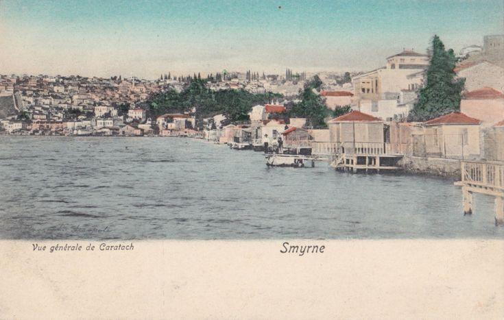 TURKEY 1900 - 1915 VINTAGE IZMIR SMYRNA CARD 'VUE GENERAL DE CARATACH'   eBay