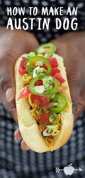 Frito pie is the inspiration behind this Austin, Texas-inspired hot dog.