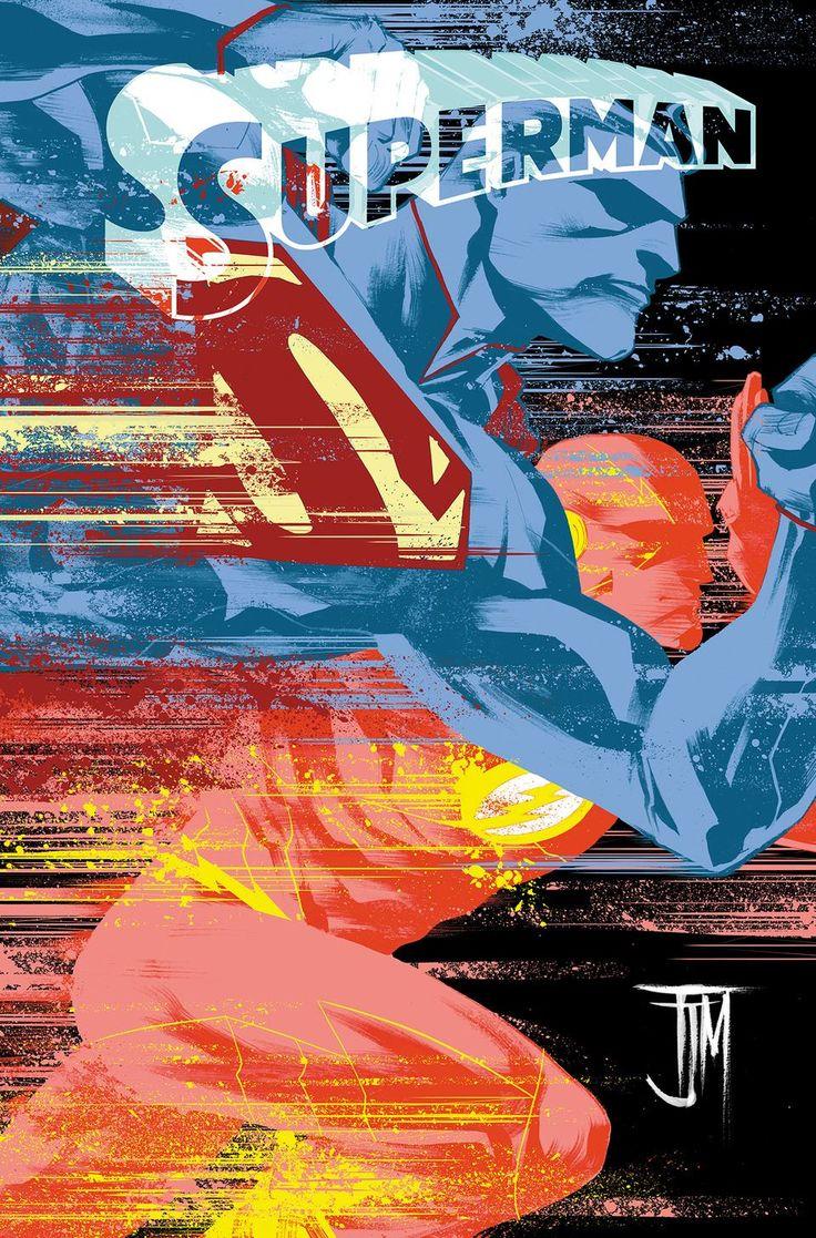 Superman Flash Variant  Francis Manapul