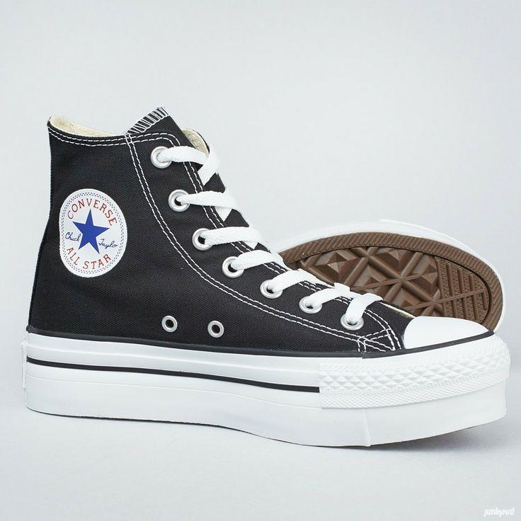 Platåskor från Converse som bygger på basketlegenden  Chuck Taylors sko från 50-talet.