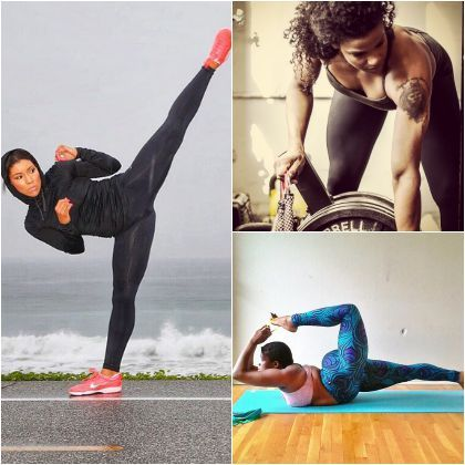 For The Young Yogis, Cardio Killers And CrossFit Queens: Black Female Fitness Gurus To Follow On Instagram