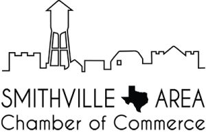 "Smithville Area Chamber of Commerce's new logo.  Created by FranLan Multimedia to show people immediately that we are the chamber in Texas.  A nod to ""Hope Floats"" and the sign coming into town."