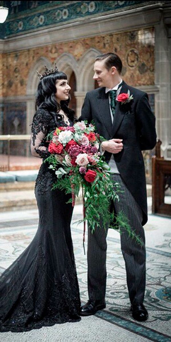 Gothic Wedding Dresses Challenging Traditions Gothic Wedding