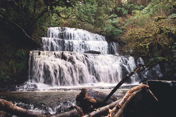 Purakaunui Falls in the Catlins, New Zealand