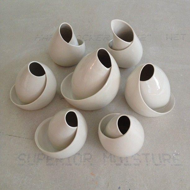 kimwestad: conversations #porcelain #ceramics #art (Taken with Instagram)