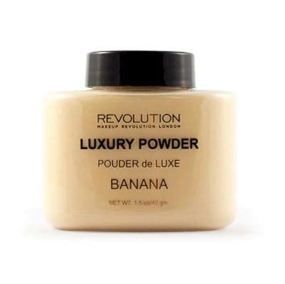 This right here is a life saver for oily skin, and a beauty product that I swear by. It keeps my concealer in place without looking cakey or settling into my fine lines. I use it on the centre of forehead, bridge of nose and under my eyes. Check out this video on how to use it. But the Makeup Revolution Luxury Banana Powder from Superdrug, £5.