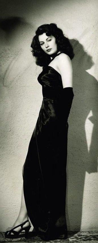 Ava Gardner in The Killers (1946, Robert Siodmak) by Ray Jones.
