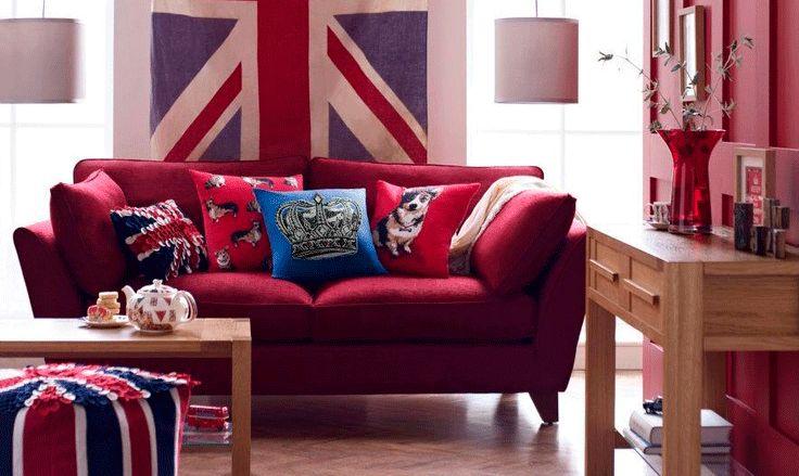 #decoracion - Decoración con acento británico
