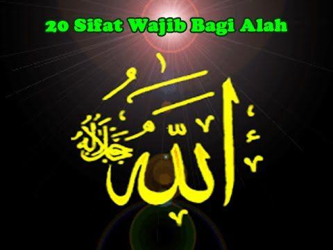 20 Sifat Wajib Bagi Allah