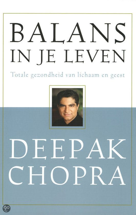 23 best boeken images on pinterest good books om and searching balans in je leven deepak chopra aryurveda fandeluxe Image collections