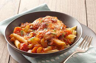 Cenas para una vida más sana - Recetas para cenas de 500 calorías o menos de Comida Kraft