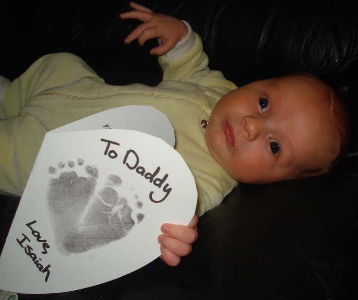 Baby's First Valentine for Daddy!