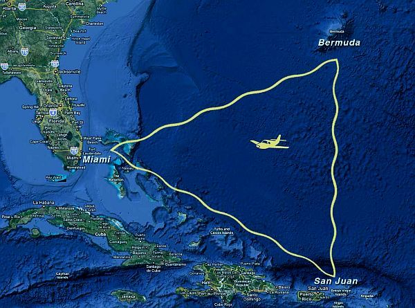 REVELATION OF BERMUDA TRIANGLE MYSTERY IN RIG VEDA AND ATHARVA VEDA