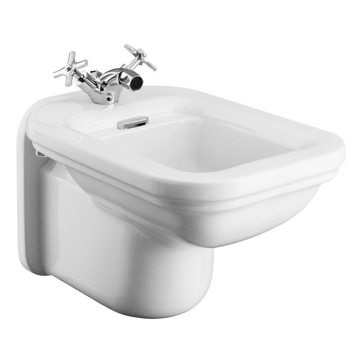 Browse the stylish Bauhaus Waldorf Art Deco Wall Hung Bidet online and give your bathroom a traditional vibe. Now in stock at Victorian Plumbing.co.uk.