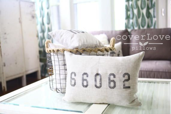 mothers day gift zip code pillow housewarming gift map