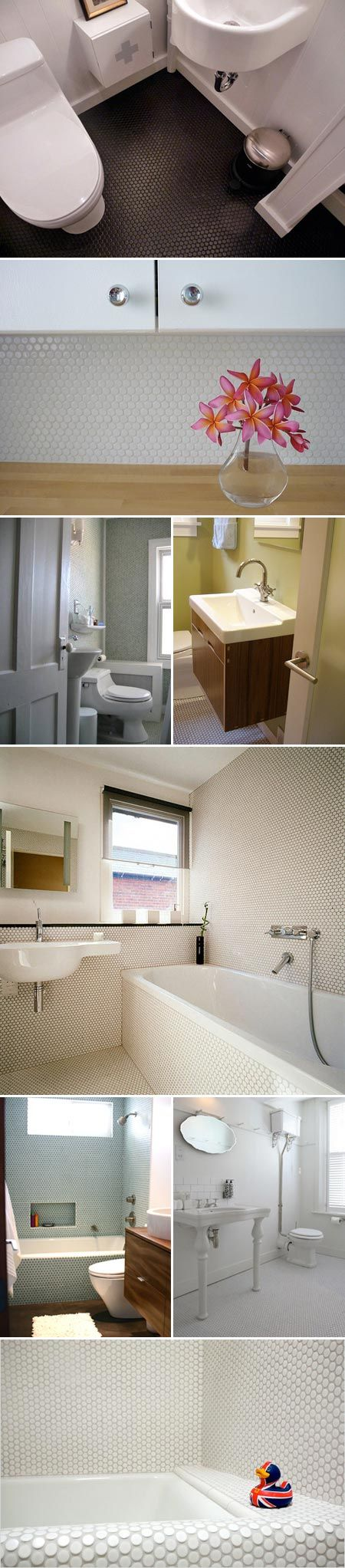 Best Penny Rounds Images Onbathroom Ideas Room