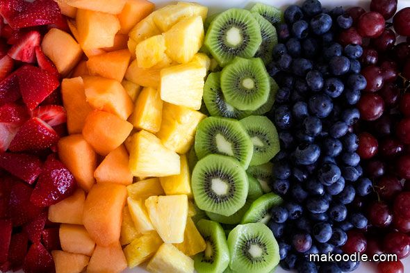 christmas fruit tray ideas | So pretty, on theme, and healthy! Win, win, win.