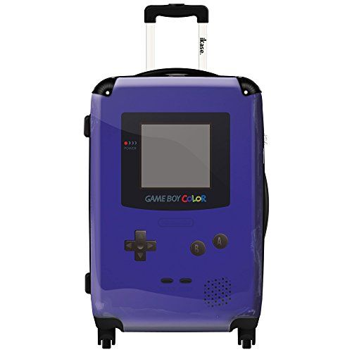 Luggage Sets Collections | iKase Game Boy Dark Blue 24inch Fashion Hardside Spinner Suitcase -- For more information, visit image link. Note:It is Affiliate Link to Amazon.