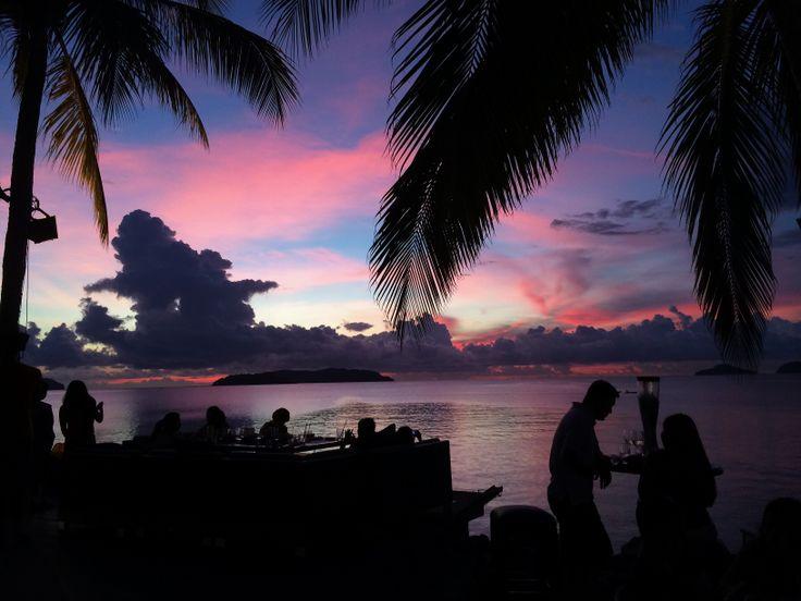 Sunset Bar,Shangri-La,Sabah.