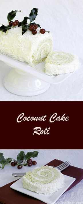COCONUT CAKE ROLL AND MY NORWEX PARTY | Food And Cake Recipes