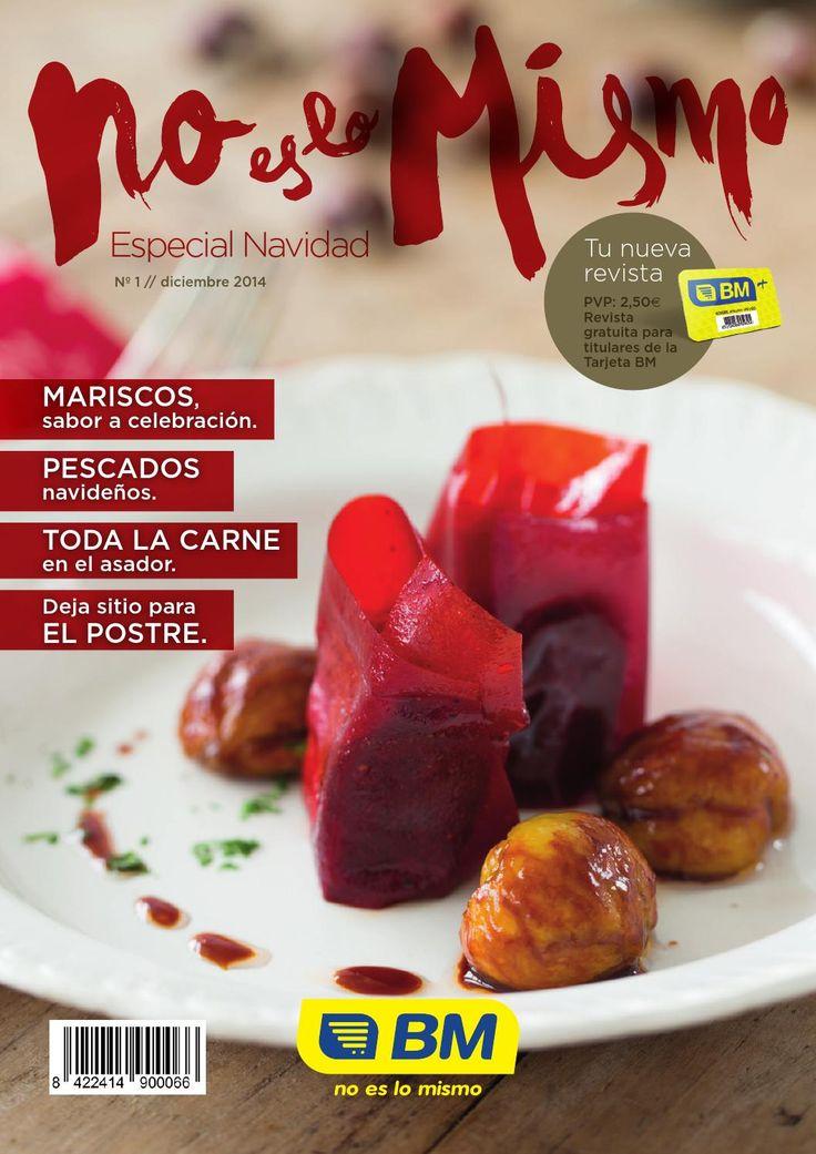 BM No es lo Mismo. Especial Navidad. Nº1  Tu NUEVA Revista gratuita para titulares de la Tarjeta BM