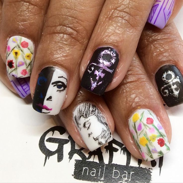 47 best nailed it images on pinterest acrylics artist and graffiti nail bar memphistn my tribute to prince purple rain prinsesfo Images