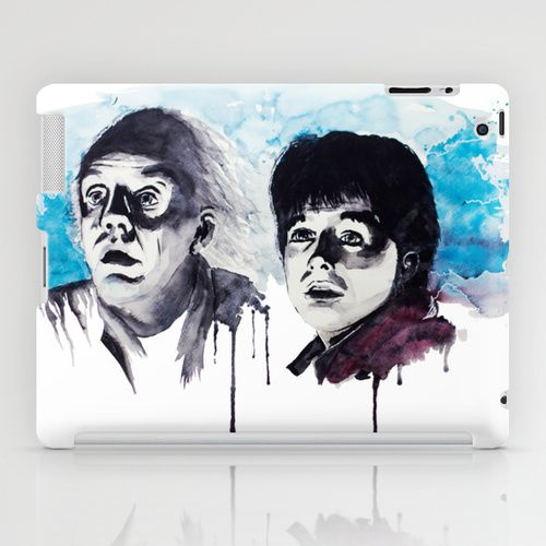 Doc & Marty iPad Case  Back to the Future