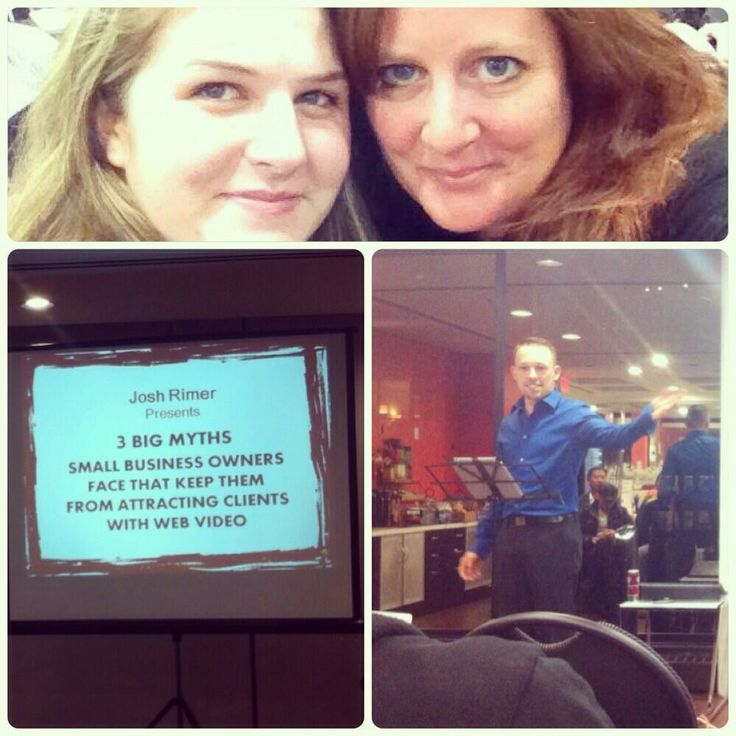 Two ladies who attended a presentation of mine took seflies and a shot of me while presenting :-)