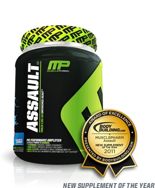 Pre-Workout Beast Mode   Muscle Pharm Assault