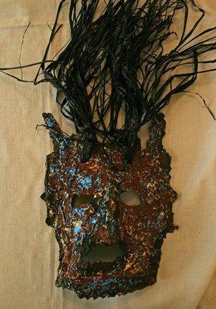 grade 5: Masks for 'Noto Hanto' Megan6148's art on Artsonia