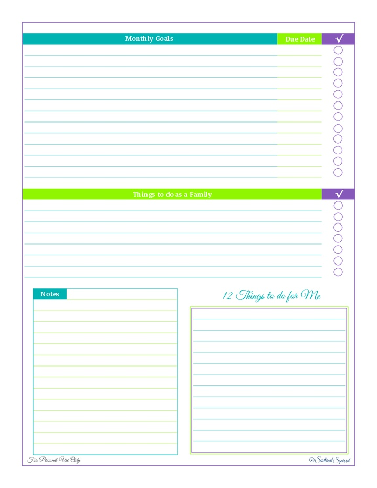 46 Best Plan   Goals, Misc Images On Pinterest Free Printable   Business Contact  List  Contacts List Template
